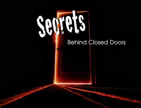 secret on closed doors quotes quotesgram