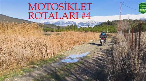 motosiklet rotalari  tracer  uzun yol inceleme