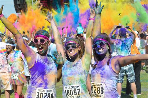 the colors the color run lausanne tourisme