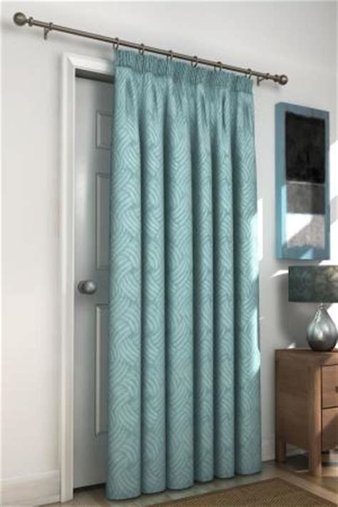 teal door curtain bellagio teal blackout lined door curtain harry corry