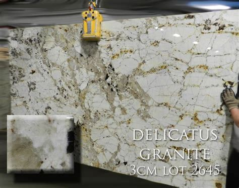 Delicatus Gold Granite Countertops by Delicatus Granite Materials