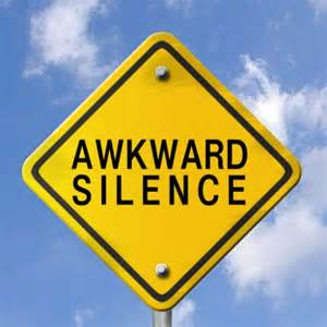 gagged children and the awkward silence from range