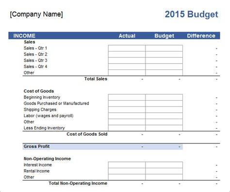 small business budget template excel best of sample business bud