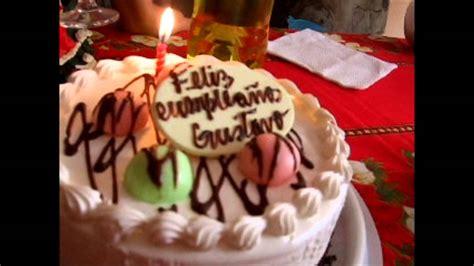 imagenes feliz cumpleaños gustavo feliz cumplea 241 os gustavo youtube