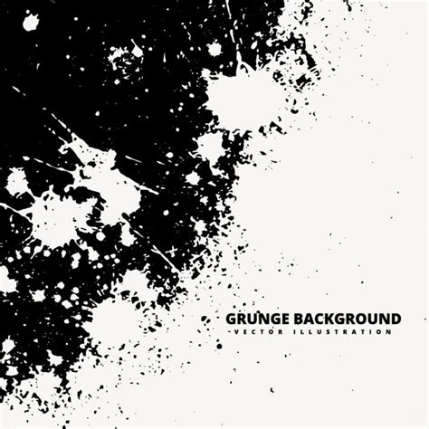 grunge background with white spashes vector free