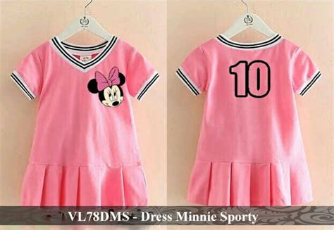 Grosir Murah Baju Cups Dress Beby Terry vl78dms dress minnie sporty 78 000 reseller 63 000 matt