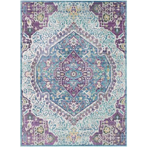 bright purple rug surya germili bright purple 9 ft x 11 ft 10 in indoor area rug ger2304 91110 the home depot