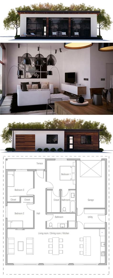 small modern floor plans best 25 small house plans ideas on small home