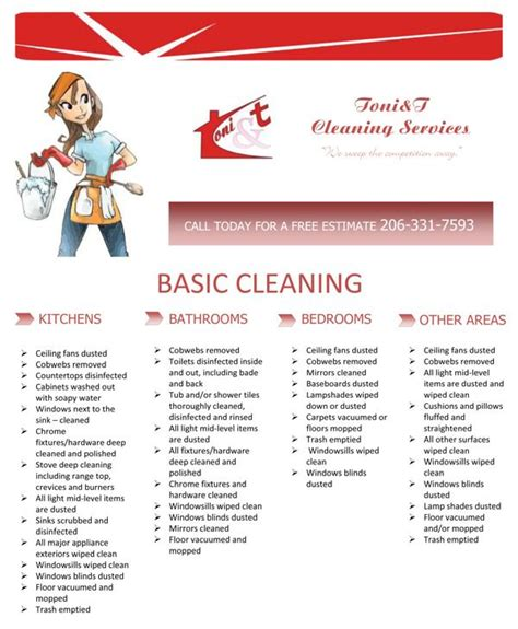 flyer for a cleaning services company by mariya krusheva