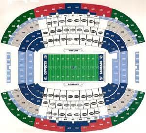 At amp t stadium arlington tx seating chart view