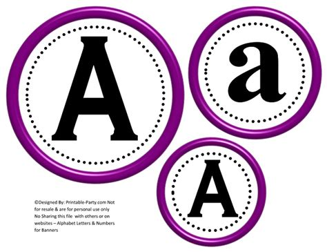 printable letters in circles 3d circle printable banner letters a z 0 9 create a