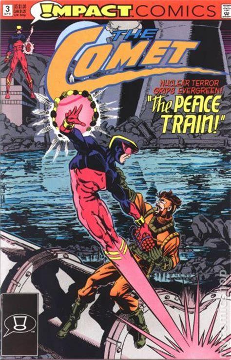 impact a safeguard novel books comet 1991 impact comic books