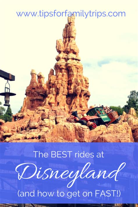 the best disneyland rides and how to get on them fast