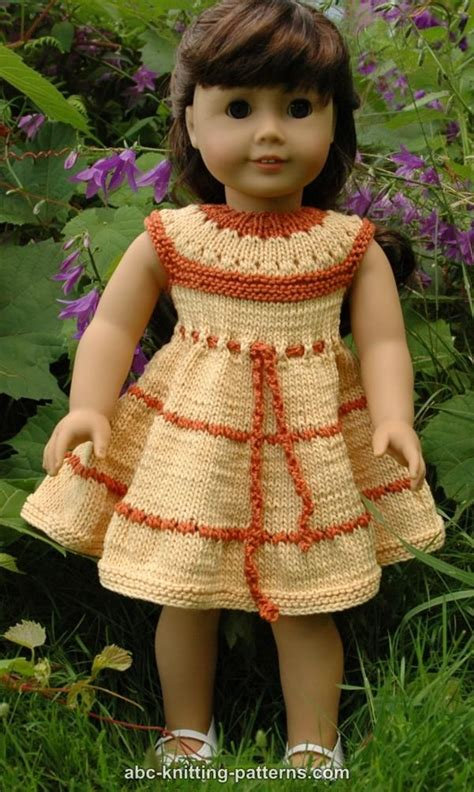 Free 18 Inch Knitted Doll Clothes Patterns