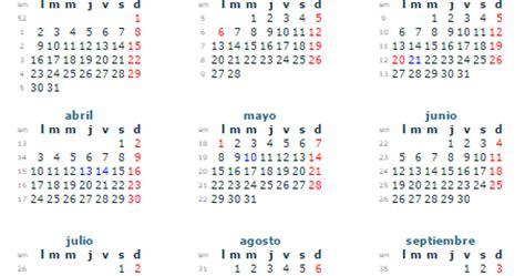 Calendario Por Dia 2017 Calendario 2017 En M 233 Xico Con Festivos Feriados Y