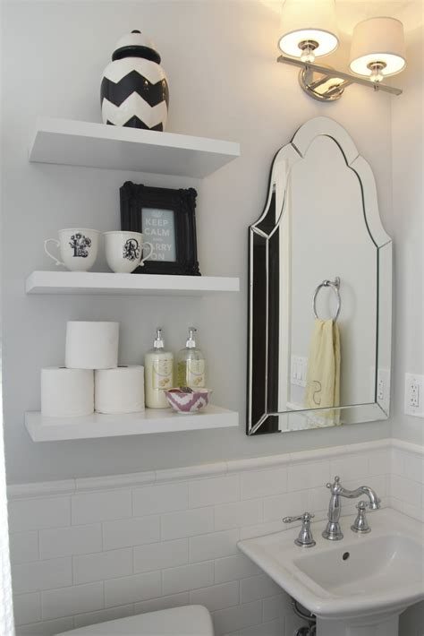 Bathroom Shelving Home Sweet Home Pinterest Bathroom White Shelves