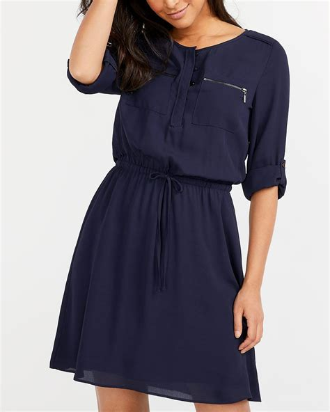 Sleeve Pocket Dress adjustable sleeve pocket dress regular reitmans