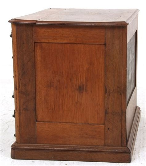 Clark Cabinets by Clarks Walnut Ruby Drawer Spool Cabinet