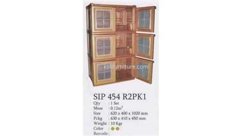 Rak Piring Shinpo rak piring plastik model container lemari new