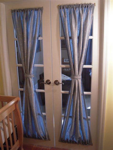 french door curtains ideas decor
