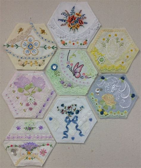 Hexagon Patchwork Projects - 8 awesome quilt hexagons by lea my has