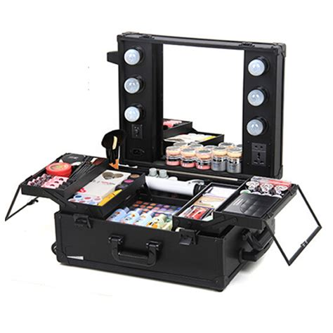 travel vanity with lights makeup with lights cosmetic travel vanity