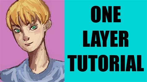 paint tool sai one layer tutorial one layer painting tutorial paint tool sai