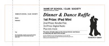 dinner tickets template raffle tickets raffle ticket printers uk draw tickets