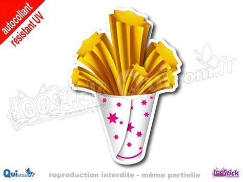 vente autocollant cornet churros cartoon quicom