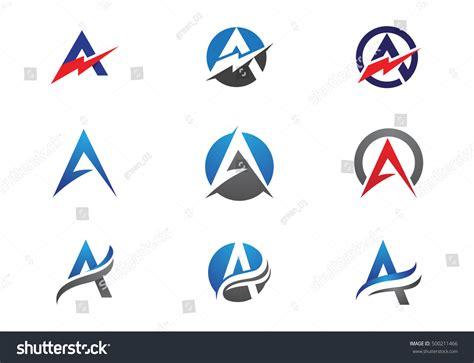 business letter template vector a letter logo business template vector icon 500211466