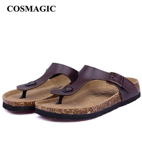 Sandal Casual Wanita Azcost 1 new cork flip flops slipper 2017 casual summer mixed color print slip on slides