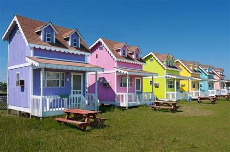 tiny houses nc community of tiny colorful cottages in hatteras north