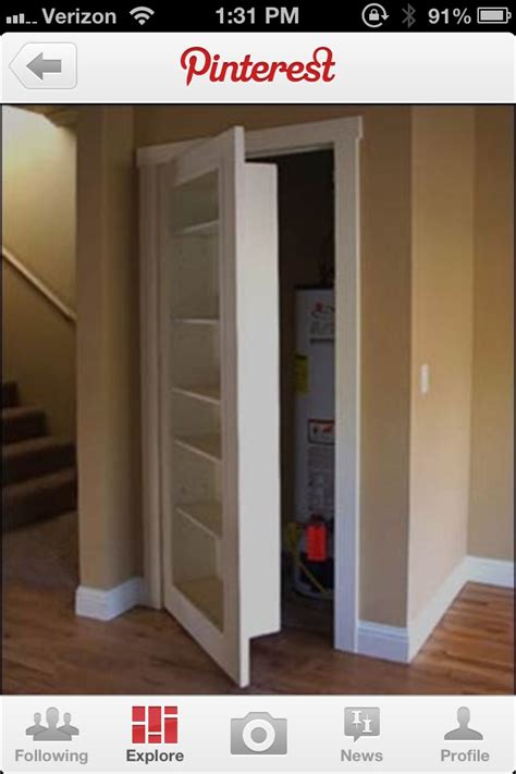 bookcase closet door closet door ideas