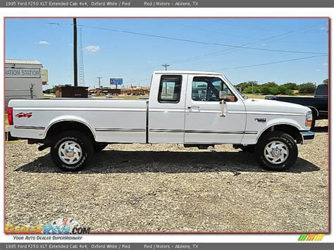 1995 Ford F250 by 1995 Ford F250 Xlt Extended Cab 4x4 Oxford White