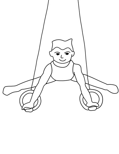 gymnastics coloring pages free printable free printable gymnastics coloring pages for kids