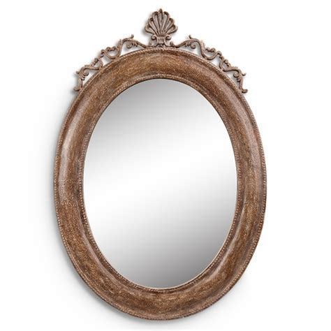 oval wall mirrors decorative spi home 48045 antique and provincial oval shaped
