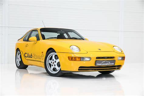 Porsche Oldtimer Club by Consignatie Oldtimer Of Youngtimerporsche 968 Club Sport