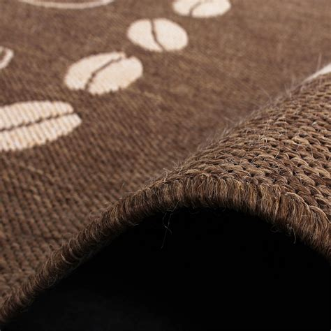 teppich rund braun beige teppich modern flachgewebe sisal optik k 252 chenteppich