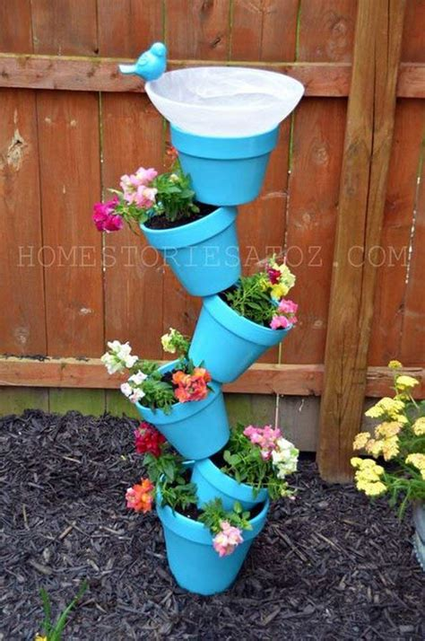 Diy Flower Tower Planter by The Coolest Tower Garden Ideas Vertical Gardening