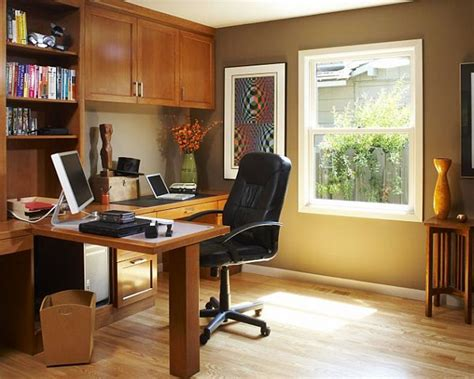 home office decorating ideas  comfortable workplace