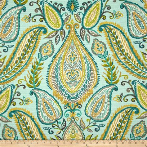 paisley curtains blue robert allen ombre paisley pool fabrics i love