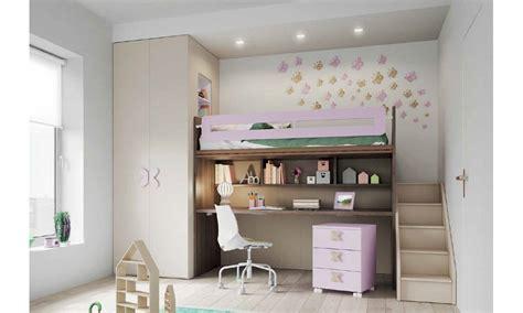etagenbett mit schreibtisch kinderzimmer mit etagenbetten und einbau in