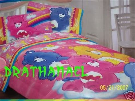 care bear bedding new care bears twin comforter reversible dreamin