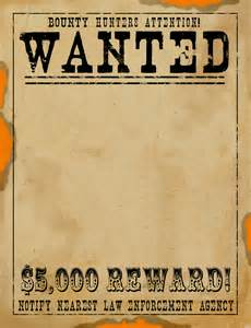 wanted posters template 5 wanted sign template teknoswitch