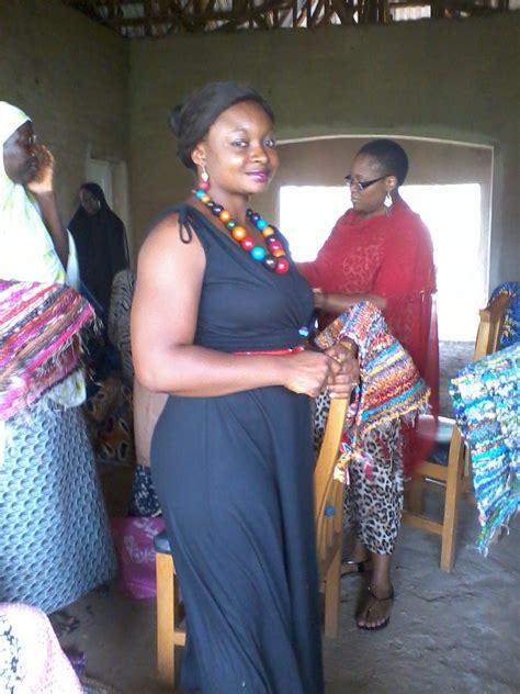 naija weave upcycler in nigeria weaves colorful livelihood