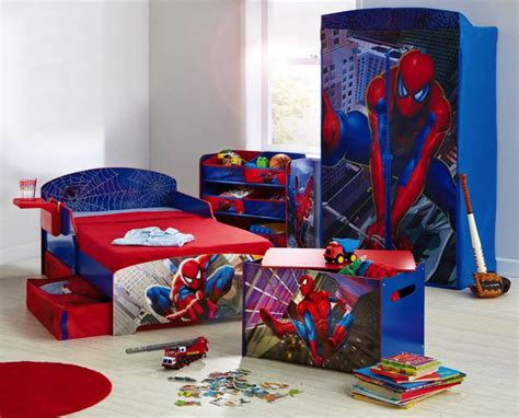 spiderman bedroom decor 20 kids bedroom ideas with spiderman themed house design and decor