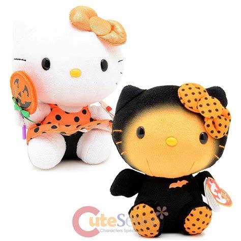 Figure Hello Crossover Sanrio Costume Set 4 sanrio hello 6in plush doll set pumpkin