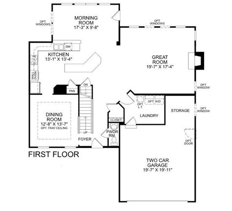 ryan homes genevieve floor plan ryan homes sienna floor plan new ryan home floor plans new