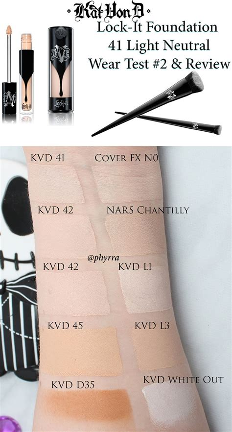 Vov B B Liquid Concealer d lock it 41 foundation wear test and review