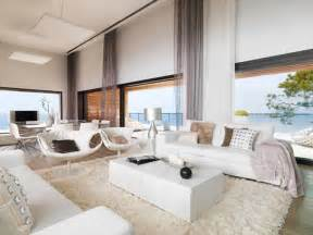 stylish home interiors modern white dream house living room iroonie com